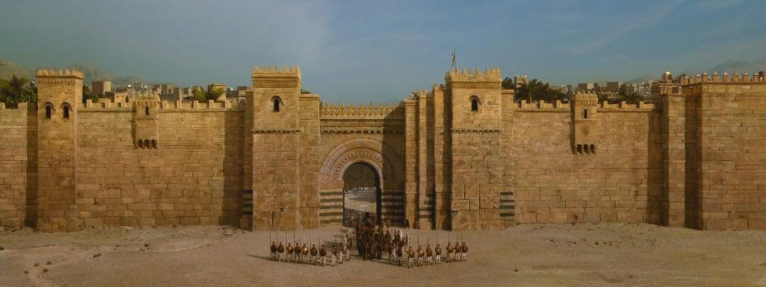 Imagen de las Murallas de Qarth en la serie Juego de Tronos.