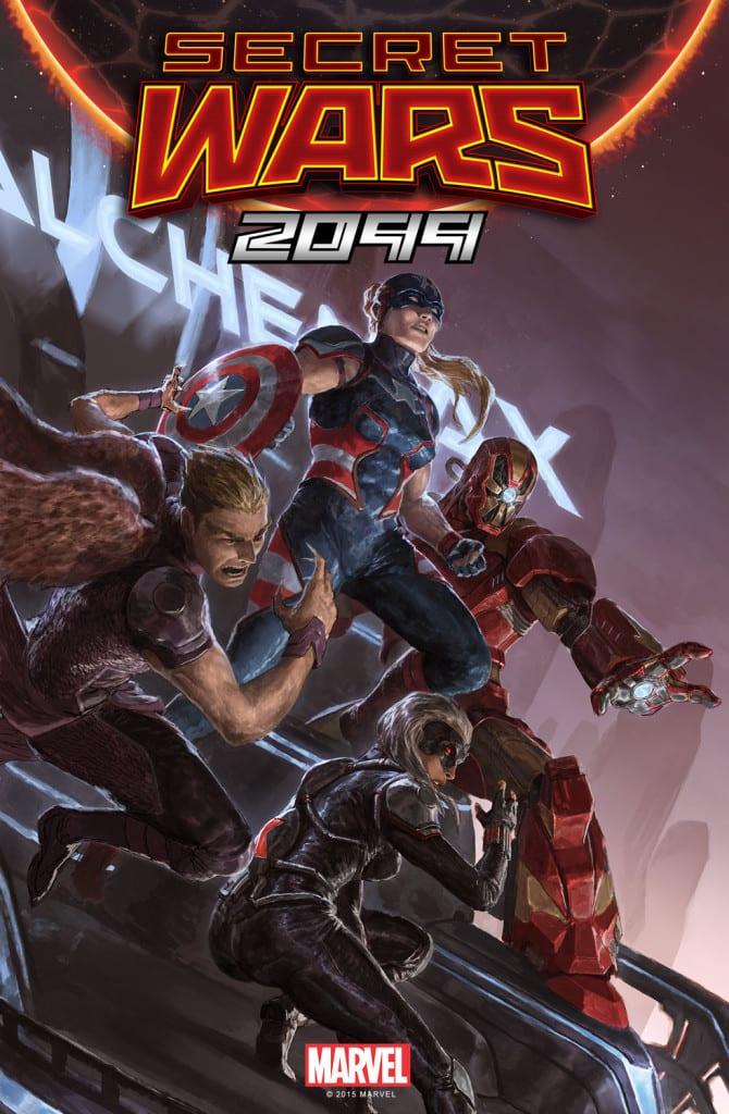 Portada de Secret Wars 2099 #01