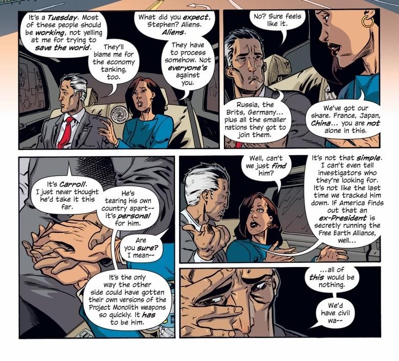 LA política del presidente Blade