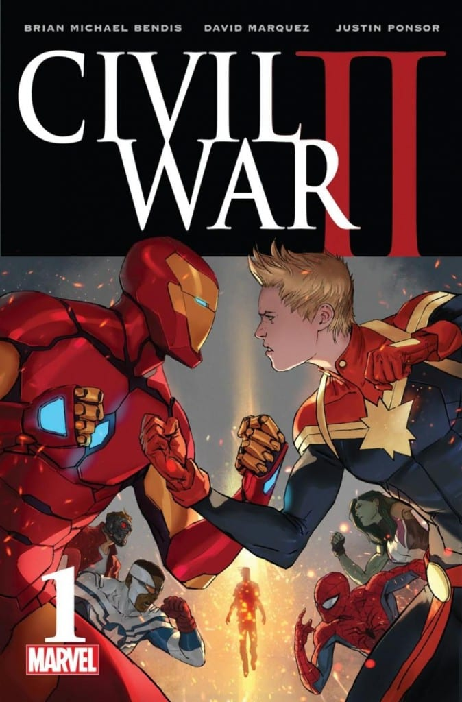 Portada de Civil War 2