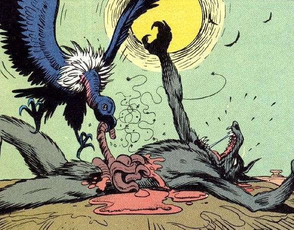 Viñeta de la Página 21 de Animal Man #5. Por Chaz Truog.