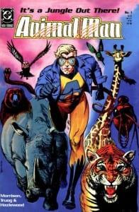Animal Man #1. Por Brian Bolland y Lovern Kindzierski.