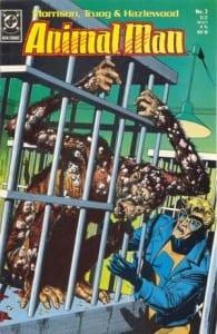 Animal Man #3. Por Brian Bolland y Lovern Kindzierski.