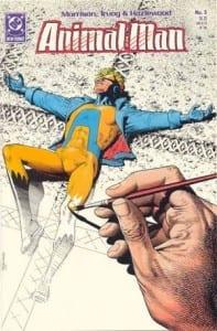 Animal Man #5. Por Brian Bolland.