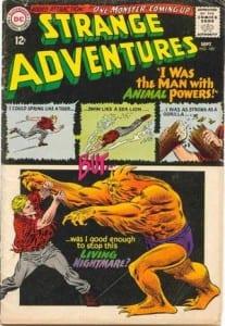 Strange Adventures #180. Por Carmine Infantino.