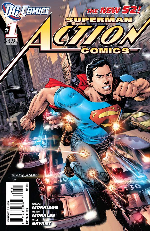 Action Comics Vol.2 #1. Por Rags Morales y Brad Anderson.