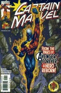 Captain Marvel Vol.4 #01 (00). Por ChrisCross.