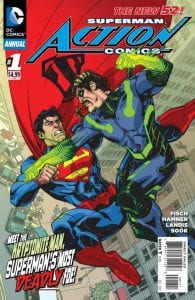 Action Comics Annual Vol.2 #1. Por Cully Hamner.