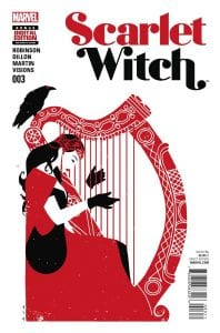 Scarlet Witch Vol 2 #3. Por David Aja.
