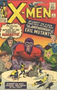 The X-Men #04. Por Jack Kirby, Paul Reinman y Art Simek.