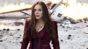Bruja Escarlata (Elizabeth Olsen) en Captain America: Civil War (16).