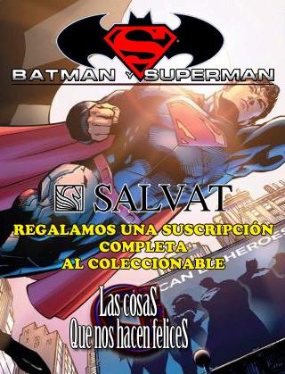 Regalamos una suscripción completa al coleccionable de novelas gráficas de Batman y Superman de Salvat