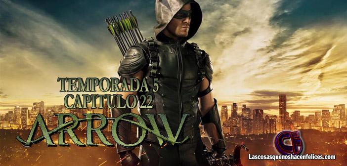 Análisis de Arrow. Temporada 5. Episodio 22