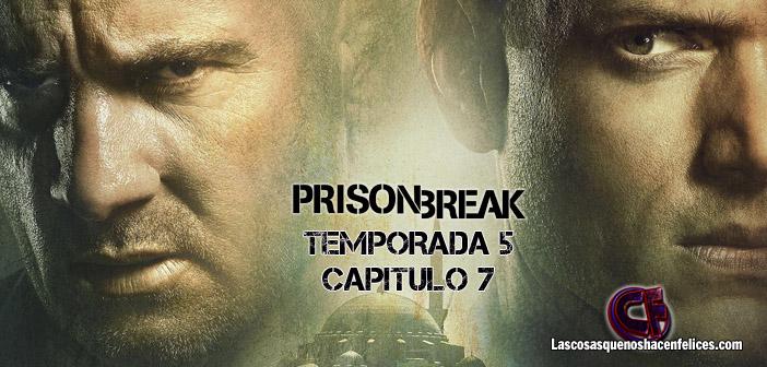 Análisis de Prison Break. Temporada 5. Episodio 7: Un mar de color vino oscuro