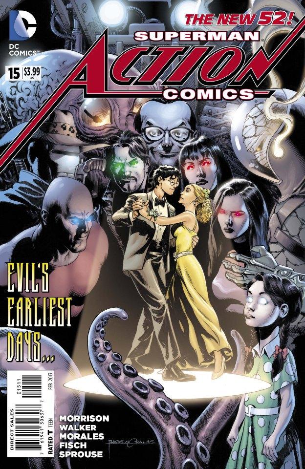 Action Comics Vol.2 #15. Por Rags Morales y Brad Anderson.