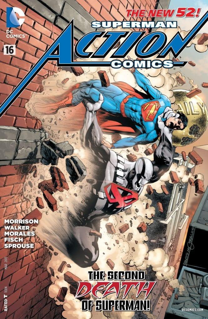 Action Comics Vol.2 #16. Por Rags Morales y Brad Anderson.