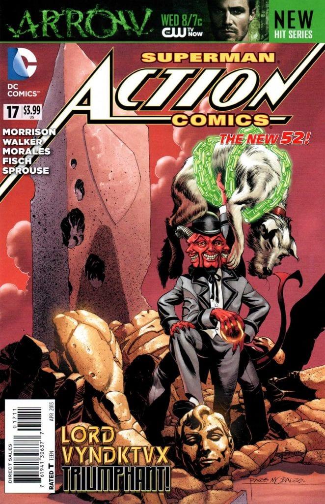 Action Comics Vol.2 #17. Por Rags Morales y Brad Anderson.