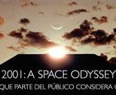 2001: Una Odisea del Espacio. Lo que parte del público considera cine