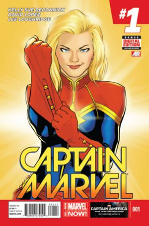 Captain Marvel Vol 8 #01
