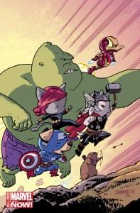 Avengers World #1- Variant de Chris Samnee
