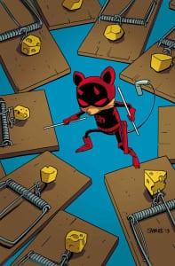 Daredevil Vol.4 #1 - Variant de Chris Samnee