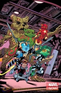 Guardians of the Galaxy #11 - Variant de Chris Samnee