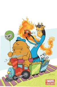 Fantastic Four #1 - Variant de Katie Cook