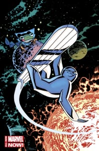 Silver Surfer #1 - Variant de Chris Samnee