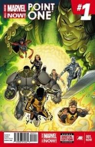 """Portada de """"All New Marvel NOW!  Point One"""". Por Salvador Larroca"""