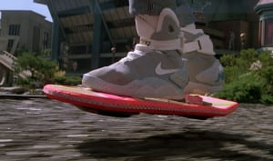 Regreso al futuro Hoverboard