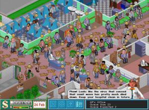 Theme Hospital-virus