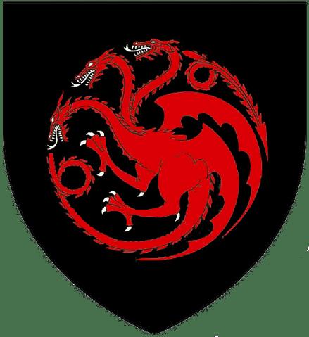 Estandarte de la Casa Targaryen