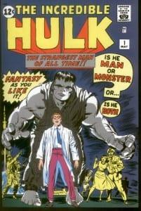 Hulk primer comic
