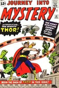 Thor primera aparicion