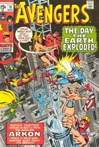 The Avengers 76. Por John Buscema, Ton Palmer y Sam Rosen