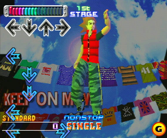 DanceDanceRevolutionNtscPlayStationOne1