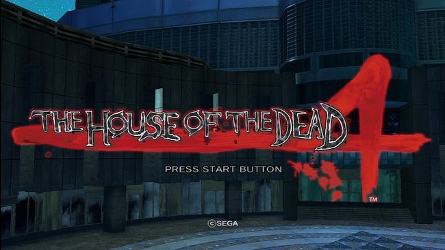 the house of the dead 4 caratula