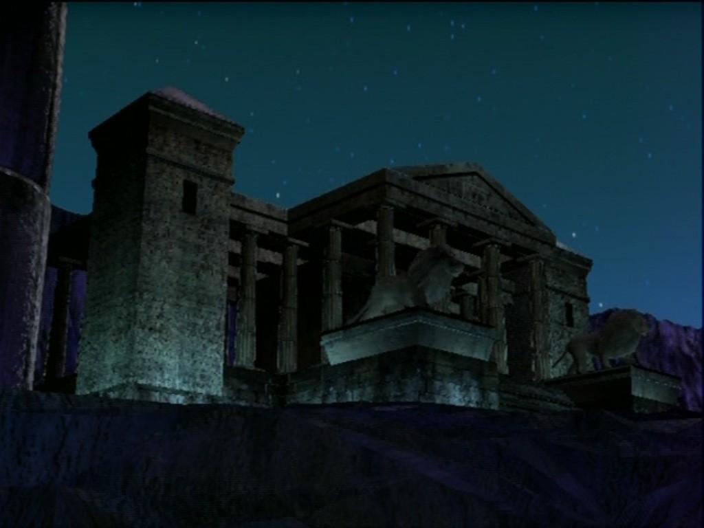 Templo del León en el Anime de Saint Seiya (Saga de Hades)