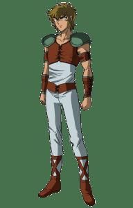 Aiolia de Leo sin armadura