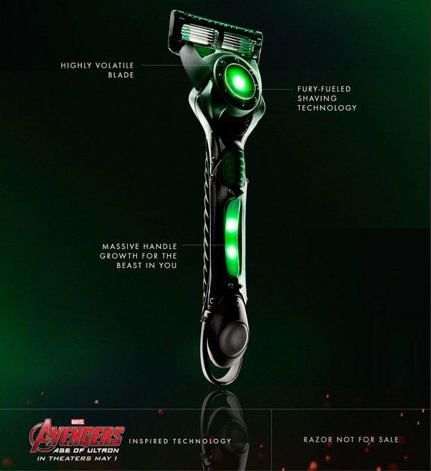 gillette-avengers-razors-hulk