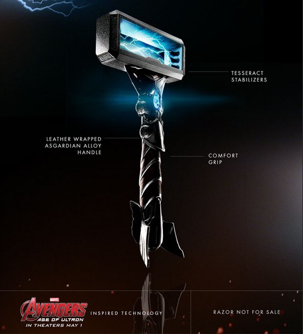 gillette-avengers-razors-thor