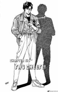 City Hunter comic