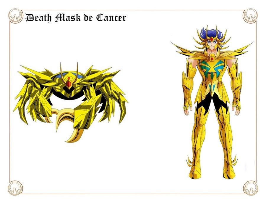 Deathmask de Cáncer. Por Shingo Araki y javiiit0