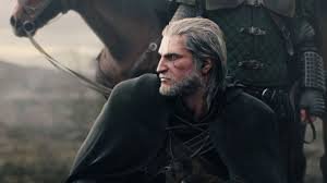 Geralt luciendo barba