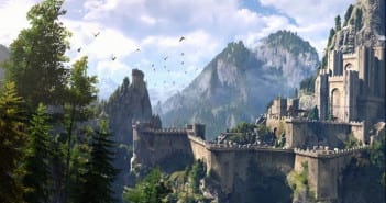 Los paisajes en The Witcher 3, uno de sus puntos fuertes