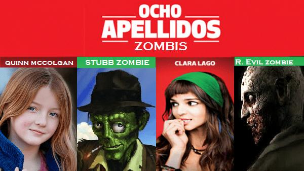 Ocho apellidos zombis