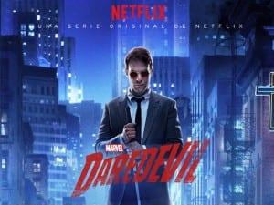 Cartel promocional de Daredevil.