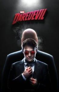 Imagen Homenaje a la serie de Daredevil. Por CAMW1N de DeviantArt.
