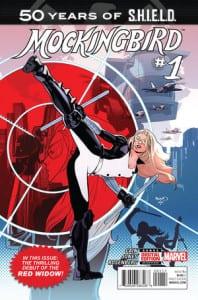 Mockingbird: S.H.I.E.L.D. 50th Anniversary. Por Paul Renaud.