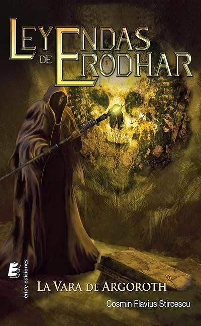 Portada del primer volumen de Leyendas de Erodhar